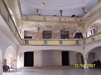 Wnętrze synagogi, kwiecień 2007