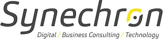 Synechron Inc - Image: Synechron Logo White Background