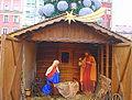 Szopka bożonarodzeniowa na rynku wrocławskim.JPG