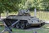 T-34 Model 1942 in the Great Patriotic War Museum 5-jun-2014.jpg