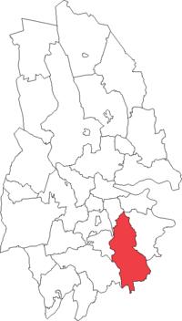 Sköllersta landskommune i Örebro amt