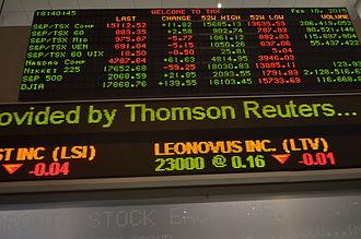 S&P/TSX Composite Index - Image: TMX Group 3