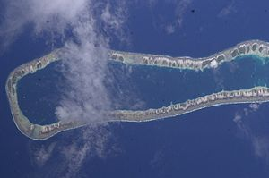 Takume - NASA picture of Takume Atoll