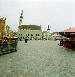 Centro de la ciudad y mercado medieval de Tallin