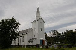 View of Talvik Church