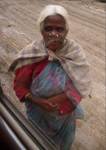 Tamil woman