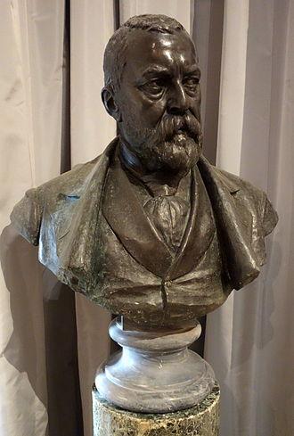 Tammar Luxoro - Bust of Tammar Luxoro by Augusto Rivalta
