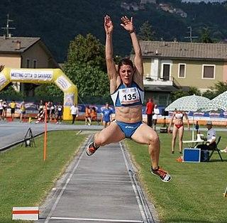 Tania Vicenzino Italian long jumper