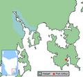 Tasmanian town locator PortArthur.png
