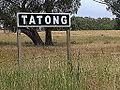 Tatong station marker Stevage.JPG