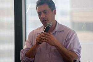 Jim Bankoff - Image: Tech Cocktail's DC Sessions w Vox Media's Jim Bankoff 6.18.14 (14477523216)