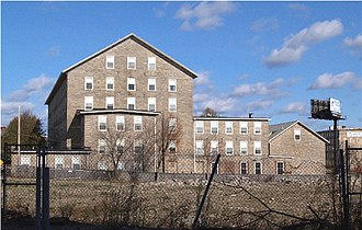 Corky Row Historic District - Image: Tecumseh Mill FR