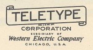 Teletype Corporation - Image: Teletype Logo