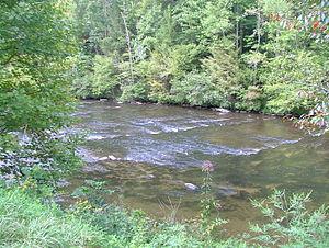 Tellico River - The Tellico River near Tellico Plains, Tennessee