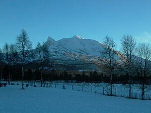 Beiarn - Tellingen mountain in February