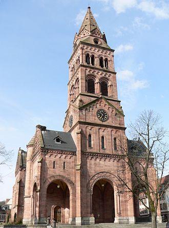 Munster, Haut-Rhin - Protestant Church