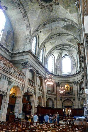 L'Oratoire du Louvre - Image: Temple protestant de l'Oratoire du Louvre nef