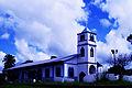 Templo de la Iglesia Católica de Remedios y su cielo azul.jpg
