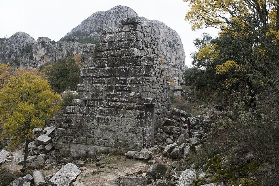 Termessos Upper city wall 7212