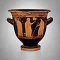 Terracotta bell-krater (bowl for mixing wine and water) MET DP115680.jpg