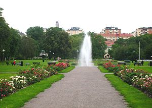 Gärdet - Fountain, Tessinparken