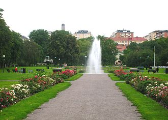 Gärdet - Fountain, Tessinparken (Tessin Park)