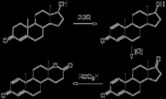 testolactone steroid