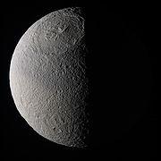 Tethys near true