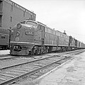 Texas & Pacific, Diesel Electric Passenger Locomotive No. 32, Left Side (21090510023).jpg