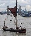 Thames barge parade - downstream - Repertor 6760c.JPG