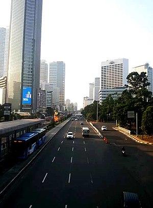 Jalan M.H. Thamrin - Thamrin Avenue