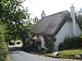 Thatched cottage, at Kelly Cross - geograph.org.uk - 1361954.jpg