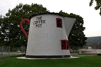The Coffee Pot (Bedford, Pennsylvania) - Image: The Coffee Pot