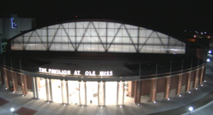 The Pavilion at Ole Miss - Main Entrance - January 2, 2016