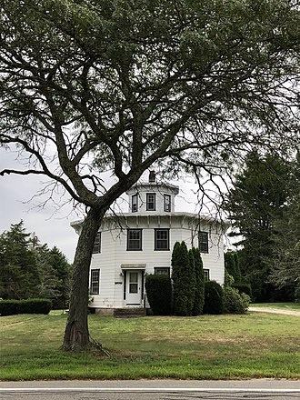 Albert S. Potter Octagon House - Image: The Albert S. Potter Octagon House