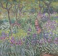 The Artist's Garden at Giverny by Claude Monet 1900.jpeg