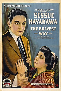 <i>The Bravest Way</i> 1918 film by George Melford