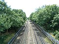 The Central Line looking south towards Buckhurst Hill - geograph.org.uk - 30520.jpg