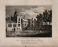 The Charterhouse, London; the Chapel. Engraving by T. Higham Wellcome V0013040.jpg