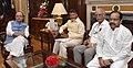 The Chief Minister of Andhra Pradesh, Shri N. Chandrababu Naidu calling the Union Minister for Finance and Corporate Affairs, Shri Arun Jaitley, in New Delhi.jpg