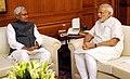 The Chief Minister of Bihar, Shri Nitish Kumar calling on the Prime Minister, Shri Narendra Modi, in New Delhi on March 26, 2015.jpg