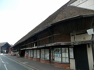 West Berkshire Museum - Image: The Granary, Wharf Street, Newbury (1)