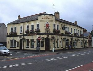 Cathedral Road - The Halfway public house in Cathedral Road