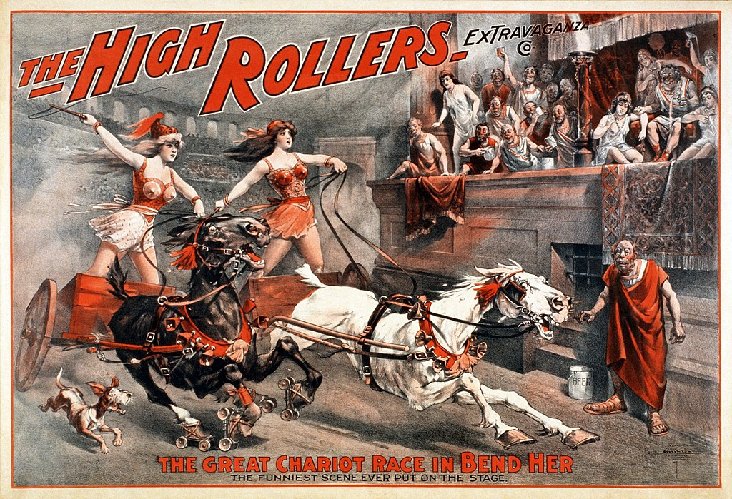 The High Rollers Extravaganza Co. - Bend Her - c.1900