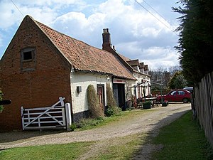 English: The Hill House Inn, Happisburgh 16th ...