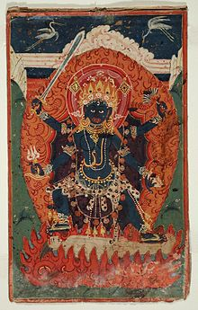 The Hindu Goddess Ugratara (Violent Tara) LACMA M.81.206.8.jpg
