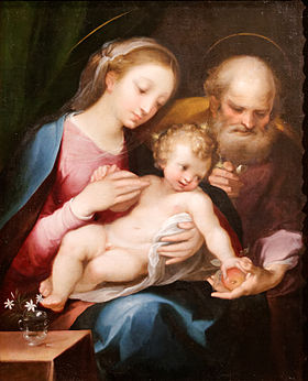 The Holy Family - Francesco Vanni.jpg