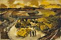 The Industrial Battle - tanks ready for shipment overseas Art.IWMARTLD3283.jpg