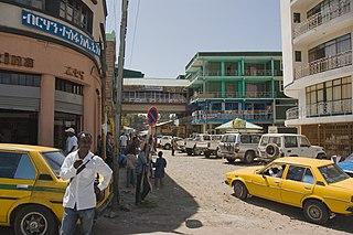 Gondar City in Amhara Region, Ethiopia