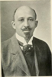 Du Bois looking to the camera